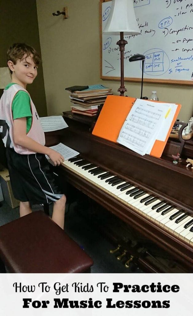 How to make piano practice fun and how to get kids to practice for music lessons.