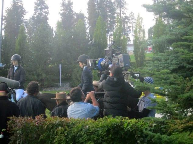 Kasey Rohl Flicka 3 Filming