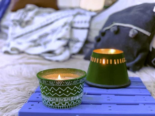 citronella candles craft