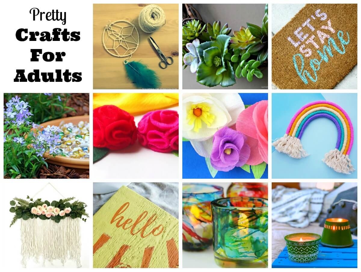 20 Beautiful Crafts For Adults To Make   Family Focus Blog