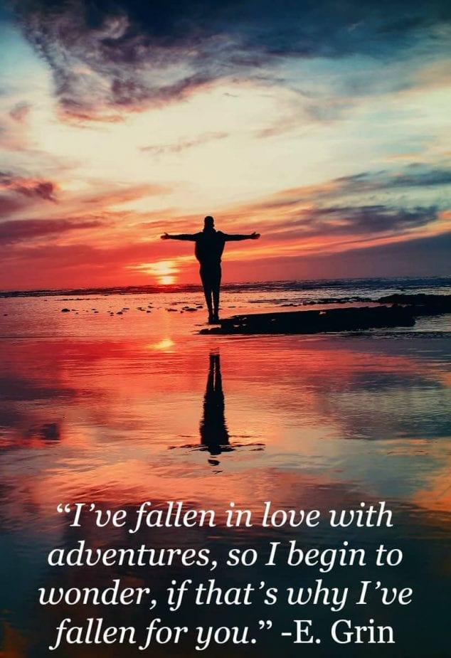 love adventure quotes