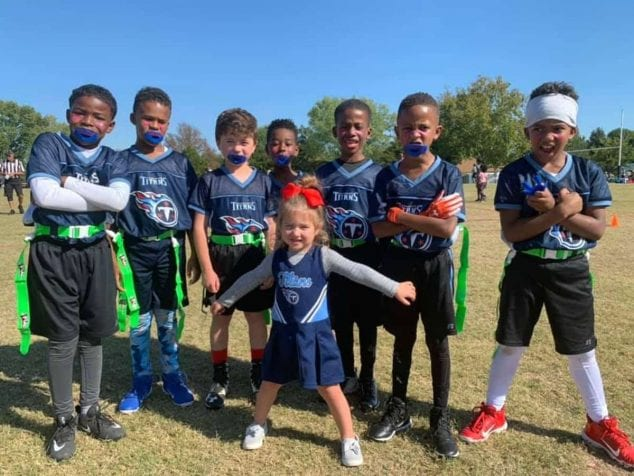 flag football for kids