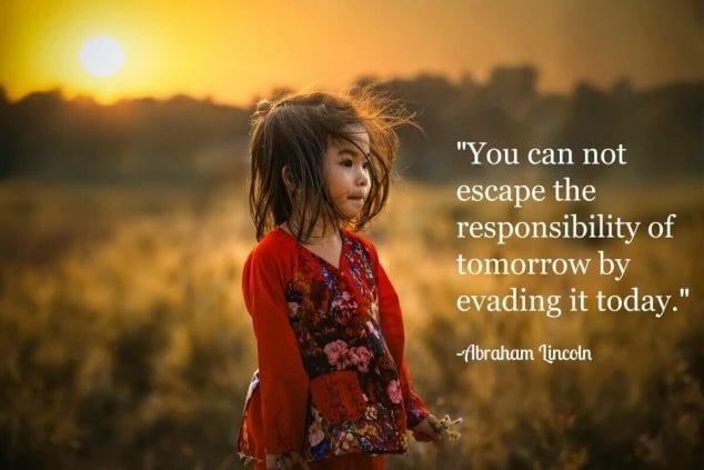 responsibility quote
