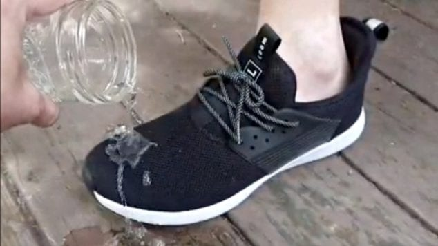 waterproof sneakers