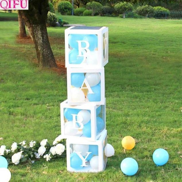 DIY Baby Shower Yard Sign