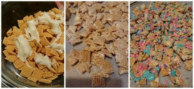 making unicorn chex