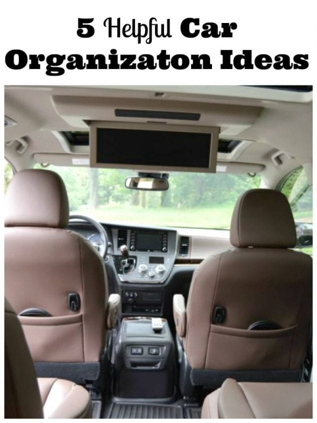 car organization ideas