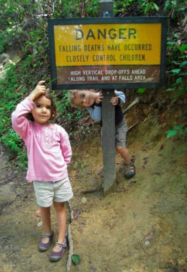 hiking safety for kids