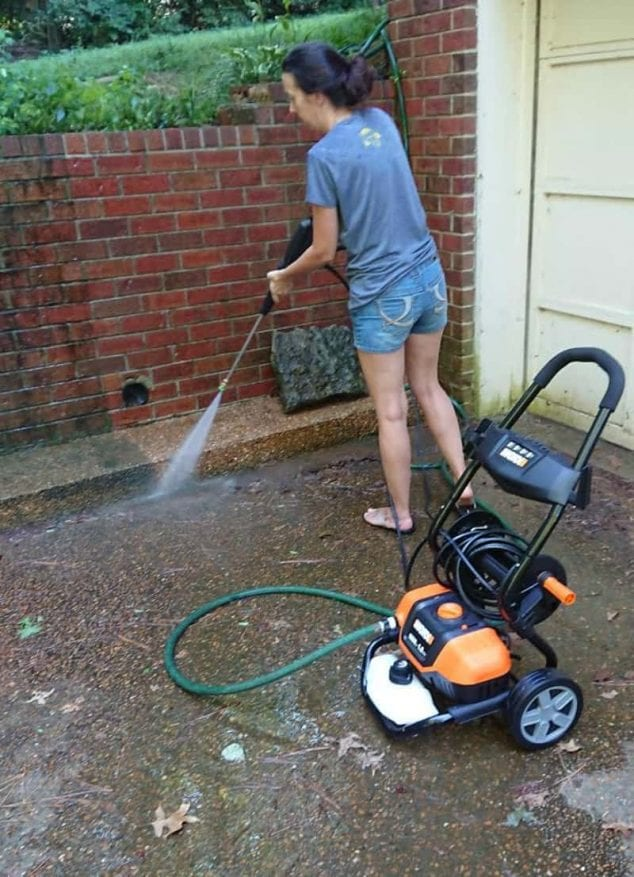 worx pressure washer review