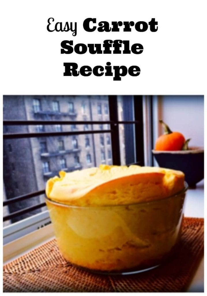 Easy Carrot Souffle Recipe