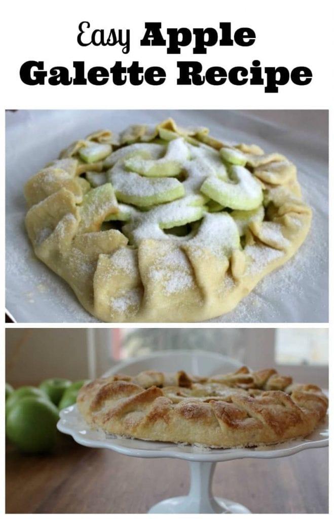 easy apple galette recipe