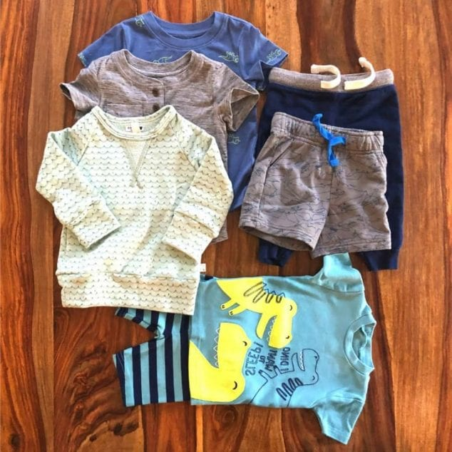 toddler boys capsule wardrobe