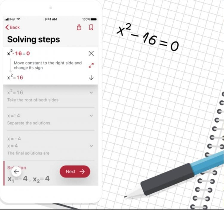 What is Photomath? An app that solves math problems