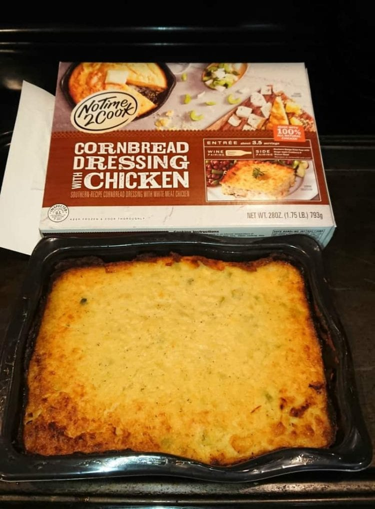 No Time 2 Cook Cornbread Dressing With Chicken