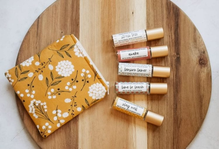 essential oil rollers for teachers