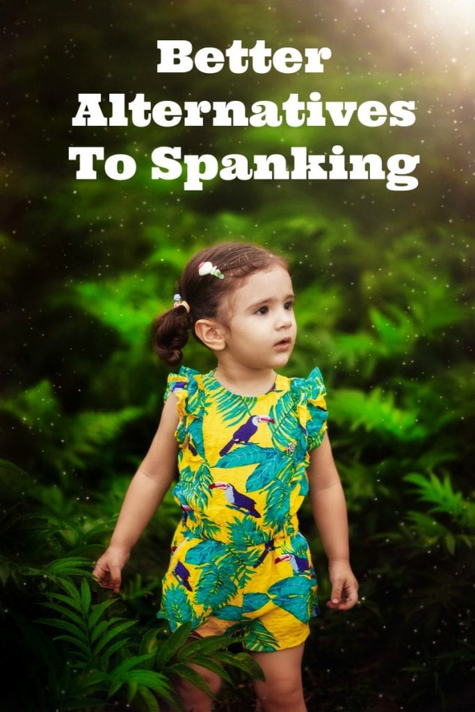alternatives to spanking