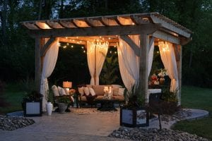 detached outdoor living spaces
