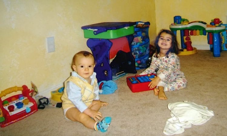 how to prepare a sibling for a new baby