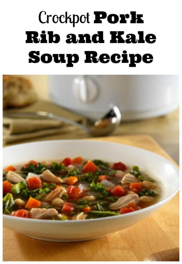pork rib kale soup recipe