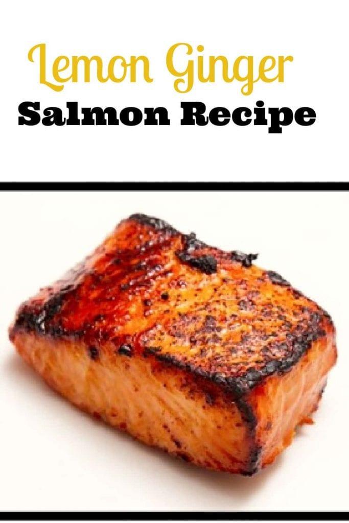 lemon ginger salmon recipe