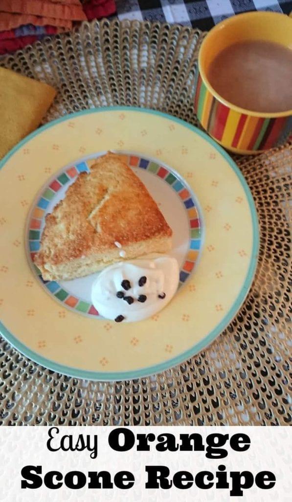 orange scone recipe