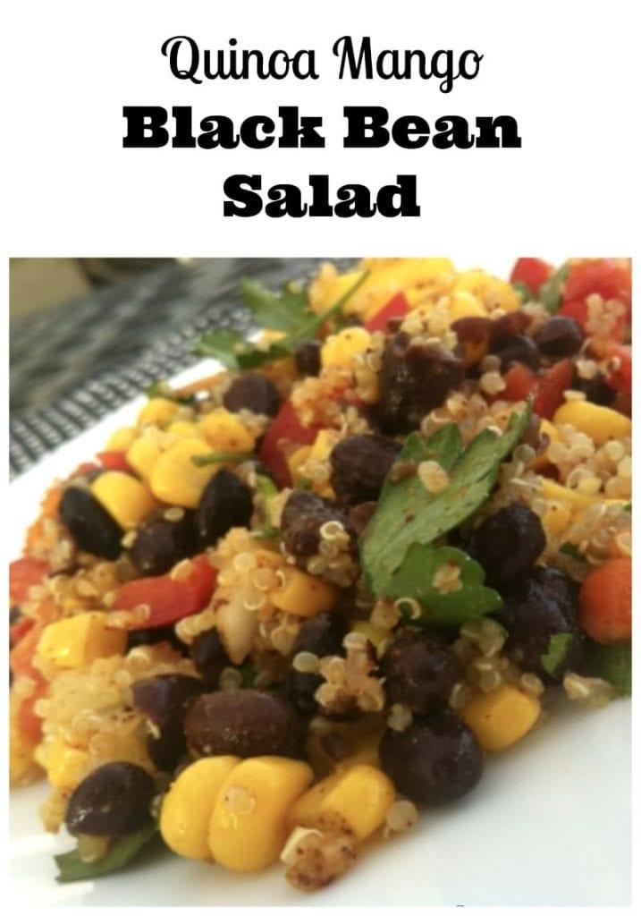 Quinoa Mango Black Bean Salad