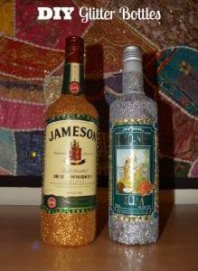 DIY Glitter Bottles