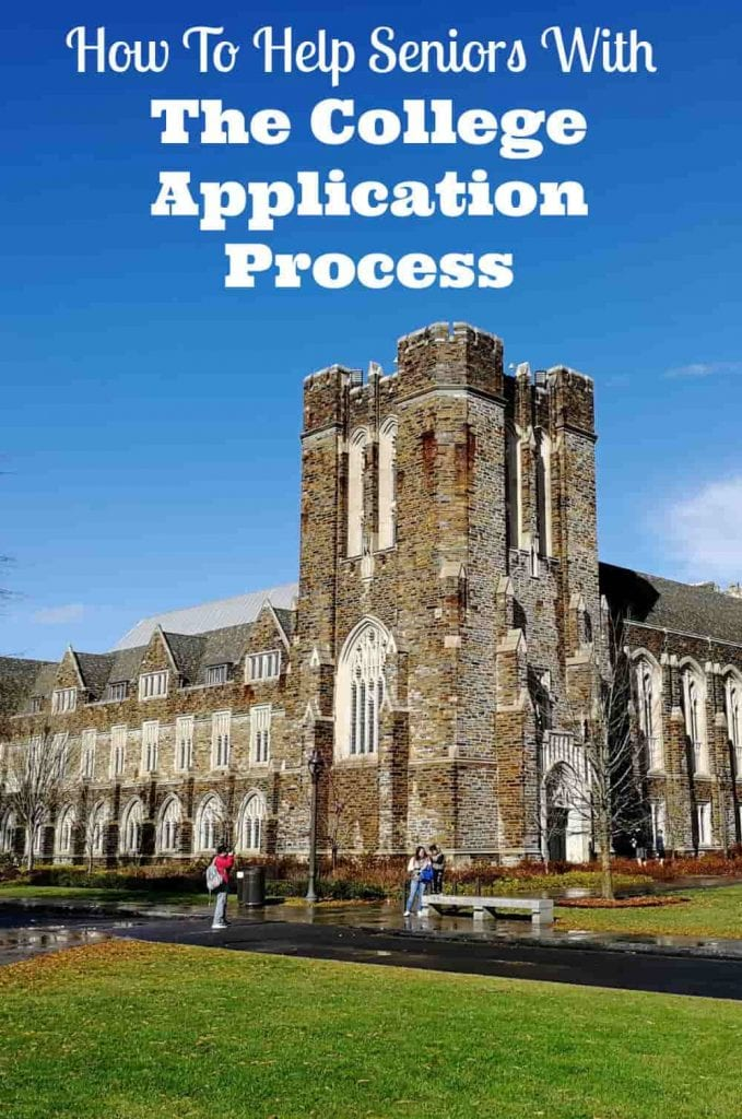 college application process