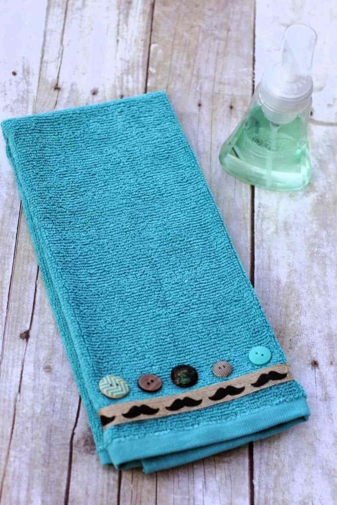 DIY decorative towels