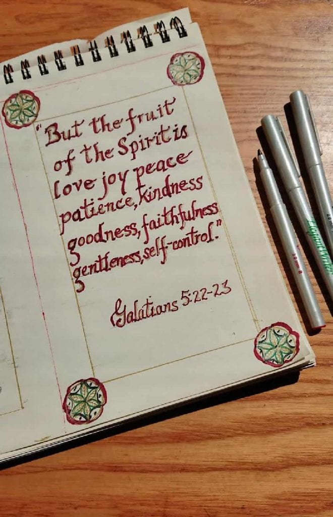 bible verse about parents and the fruit of the spirit