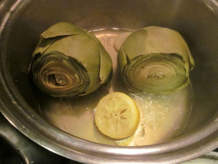 how long to cook artichokes