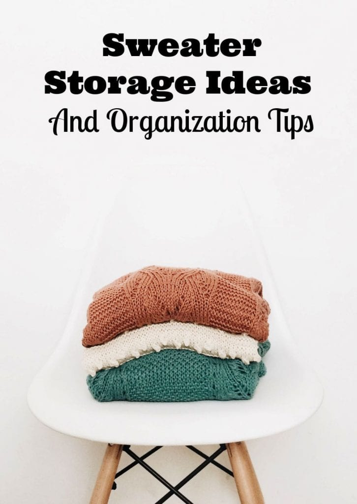 sweater storage ideas
