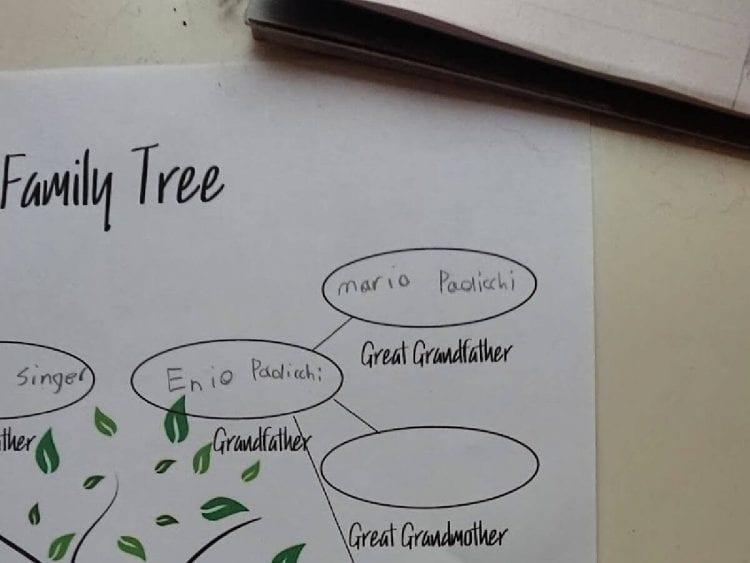 free family tree printable- blank family tree template