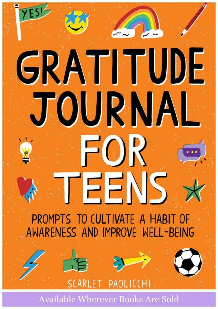 gratitude journal for teens