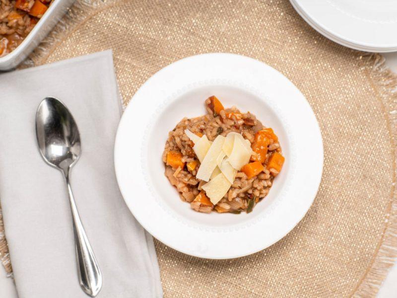 sundried tomato sweet potato risotto