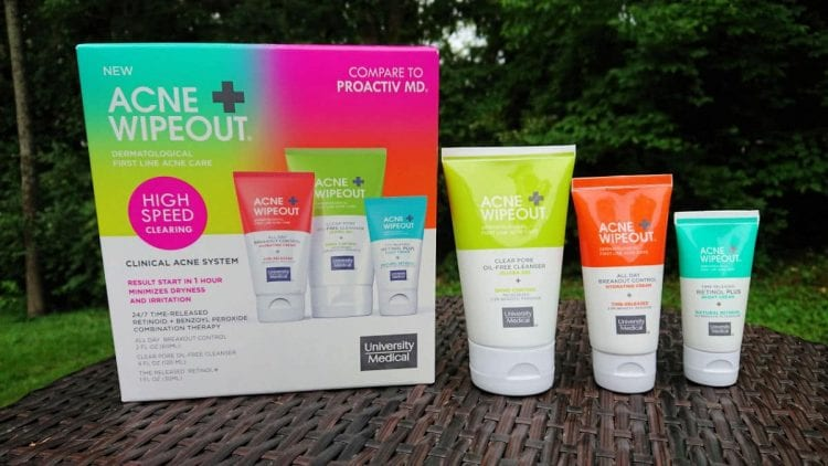 acne wipeout clinical acne system