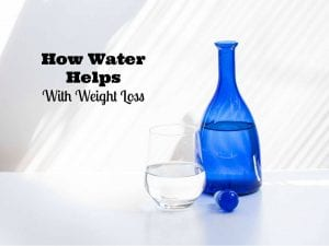 How Does Water Help With Weight Loss