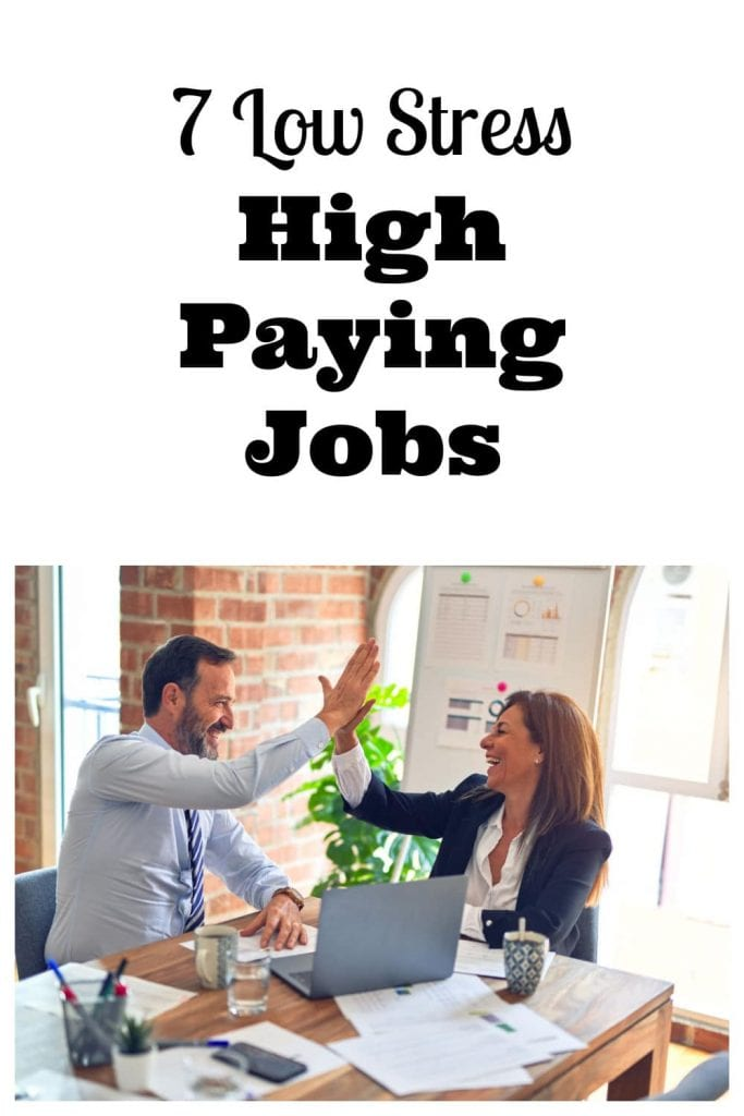 Low Stress High Paying Jobs
