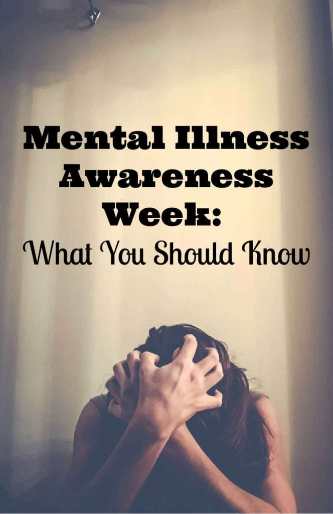 Mental Illness Awareness Week: What You Should Know