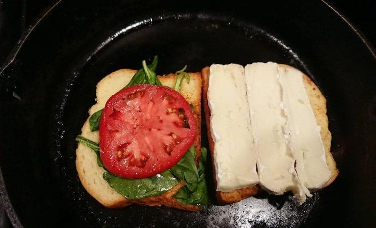 brie grilled cheese sandhich recipe