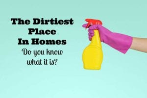 dirtiest place in homes