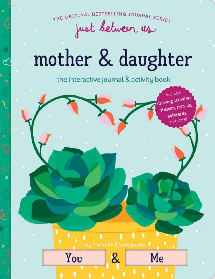 mom daughter interactive journal- what we can do with our kids