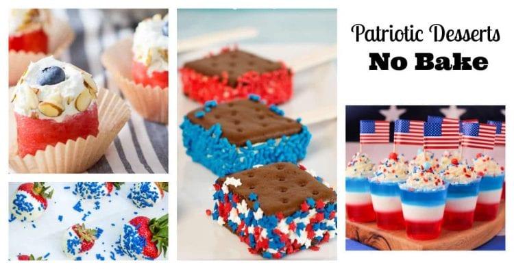 patriotic desserts no bake