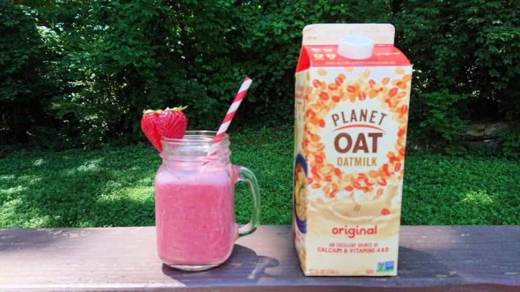 oatmilk smoothie
