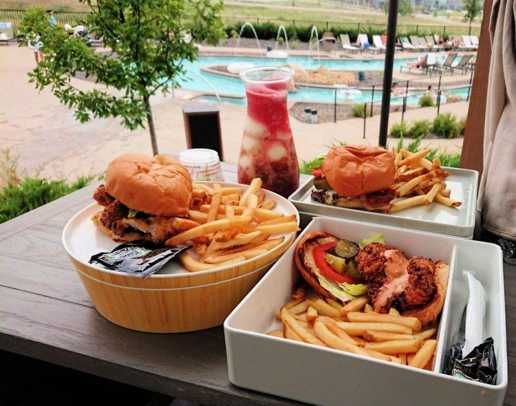 Gaylord Rockies Restaurants- Arapahoe Springs Bar & Grill food and drink