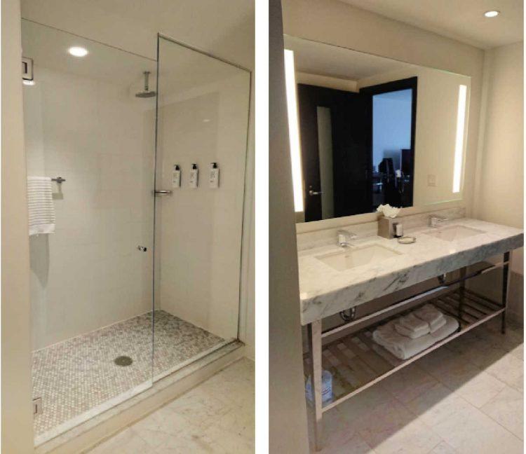 fontaine hotel bathrooms