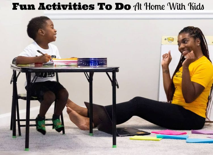 Fun Activities To Do At Home With kids