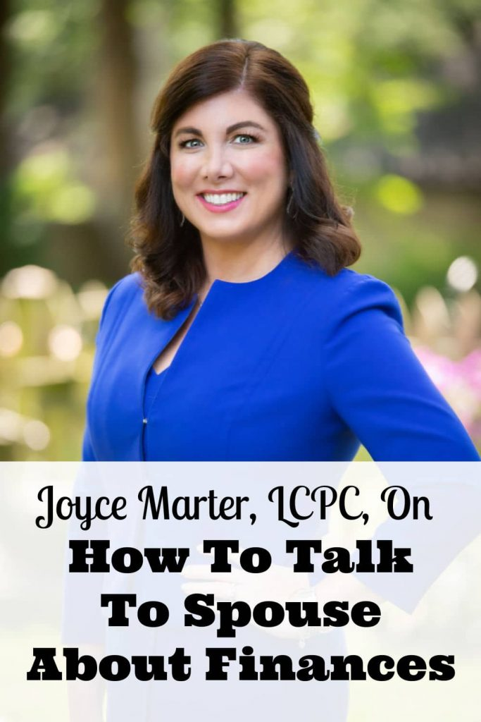 Joyce Marter, LCPC, On How To Talk To Spouse About Finances