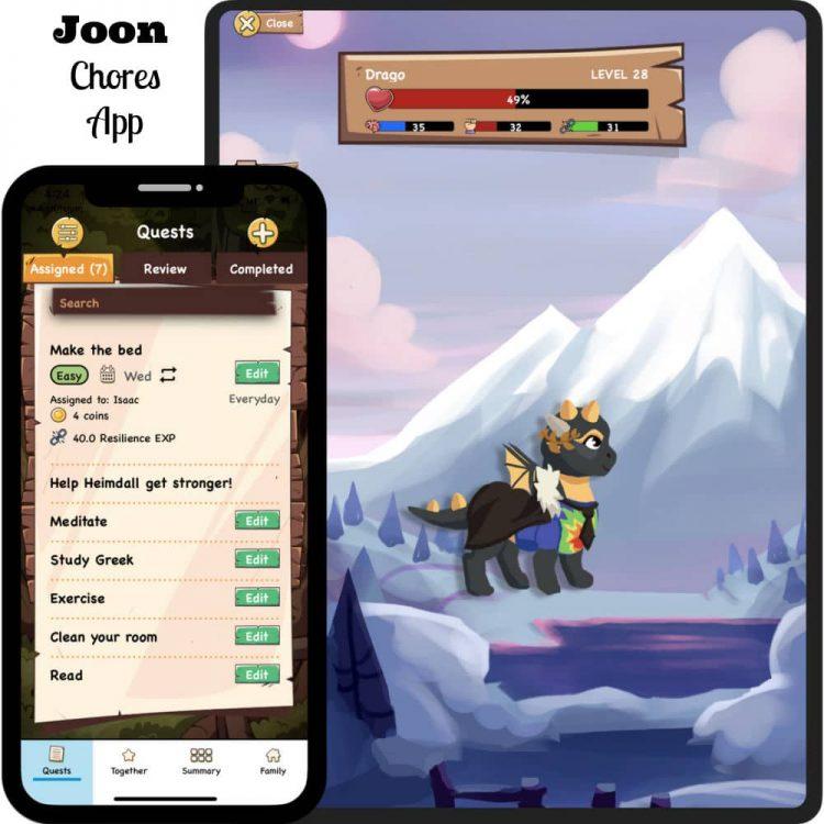 Joon Chores App