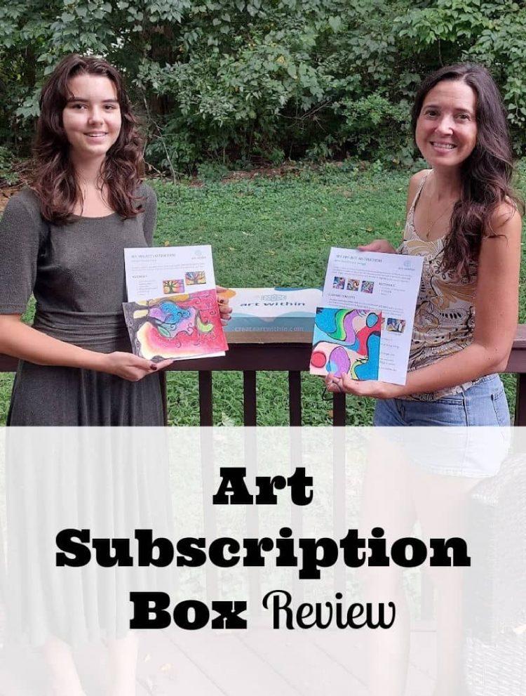 art subscription box review